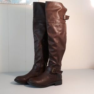 Charlotte Russe size 7 over the knee boots